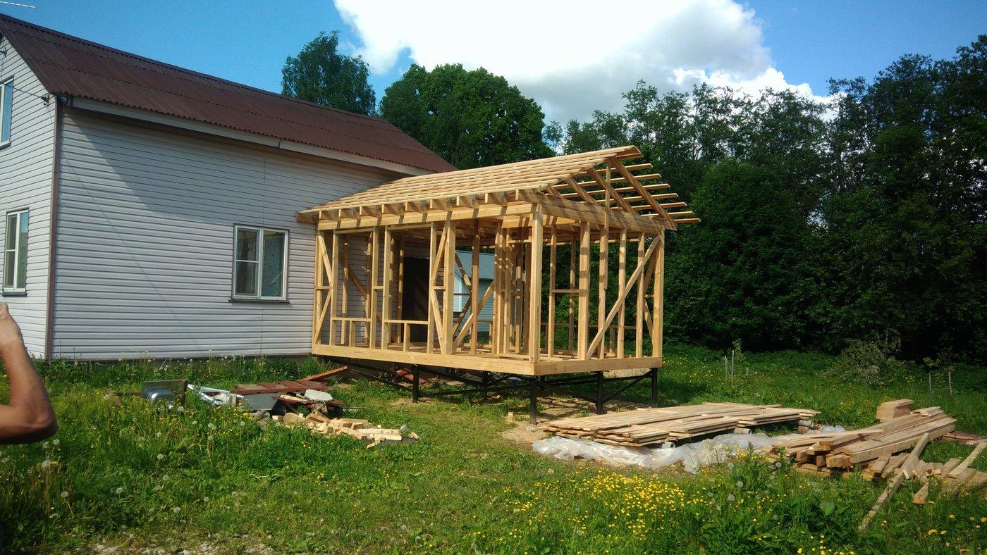 Строительство домов и коттеджей. Каркасные дома