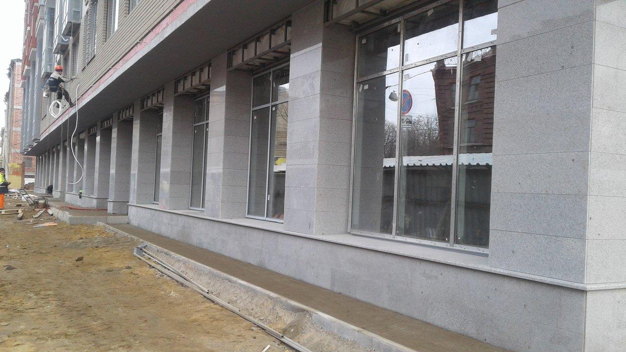 Фасадные работы. Наши работы