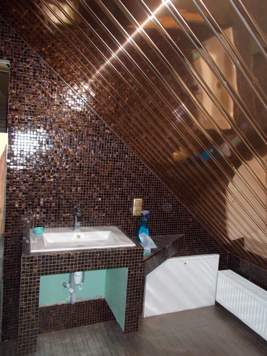 Ремонт ванной. мозайка