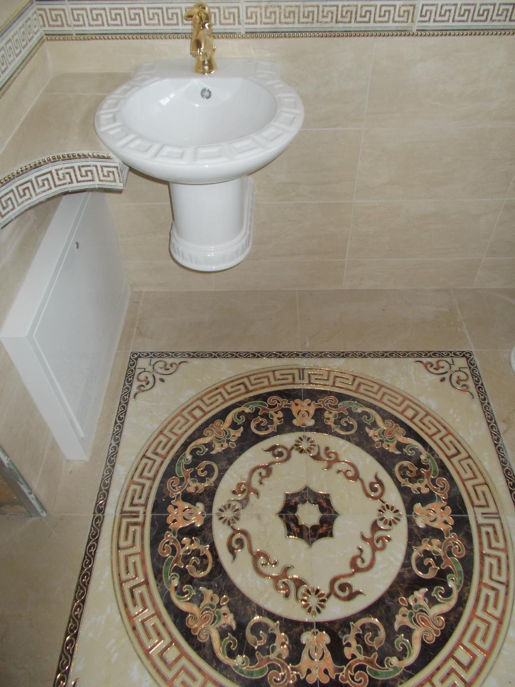 Ремонт ванной. плитка