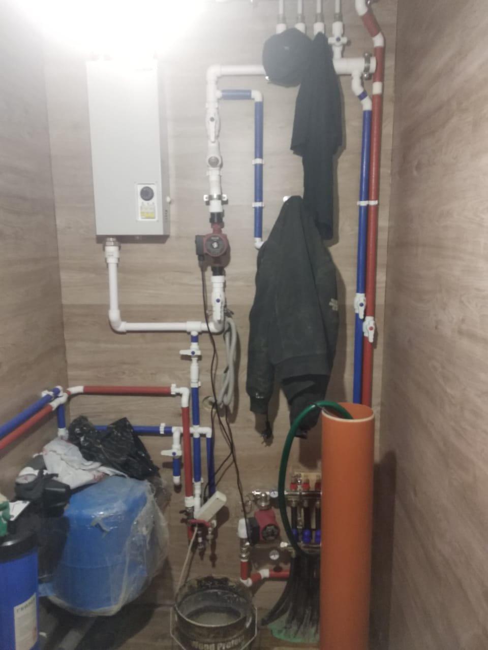 Отопление, водоснабжение и канализация. Работа