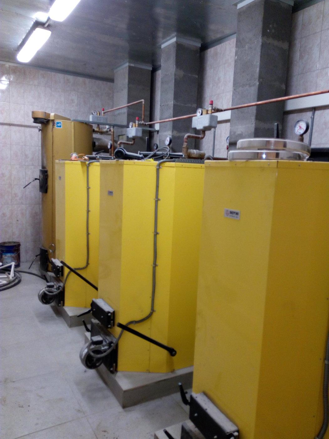 Отопление, водоснабжение и канализация. Каскадная котельная