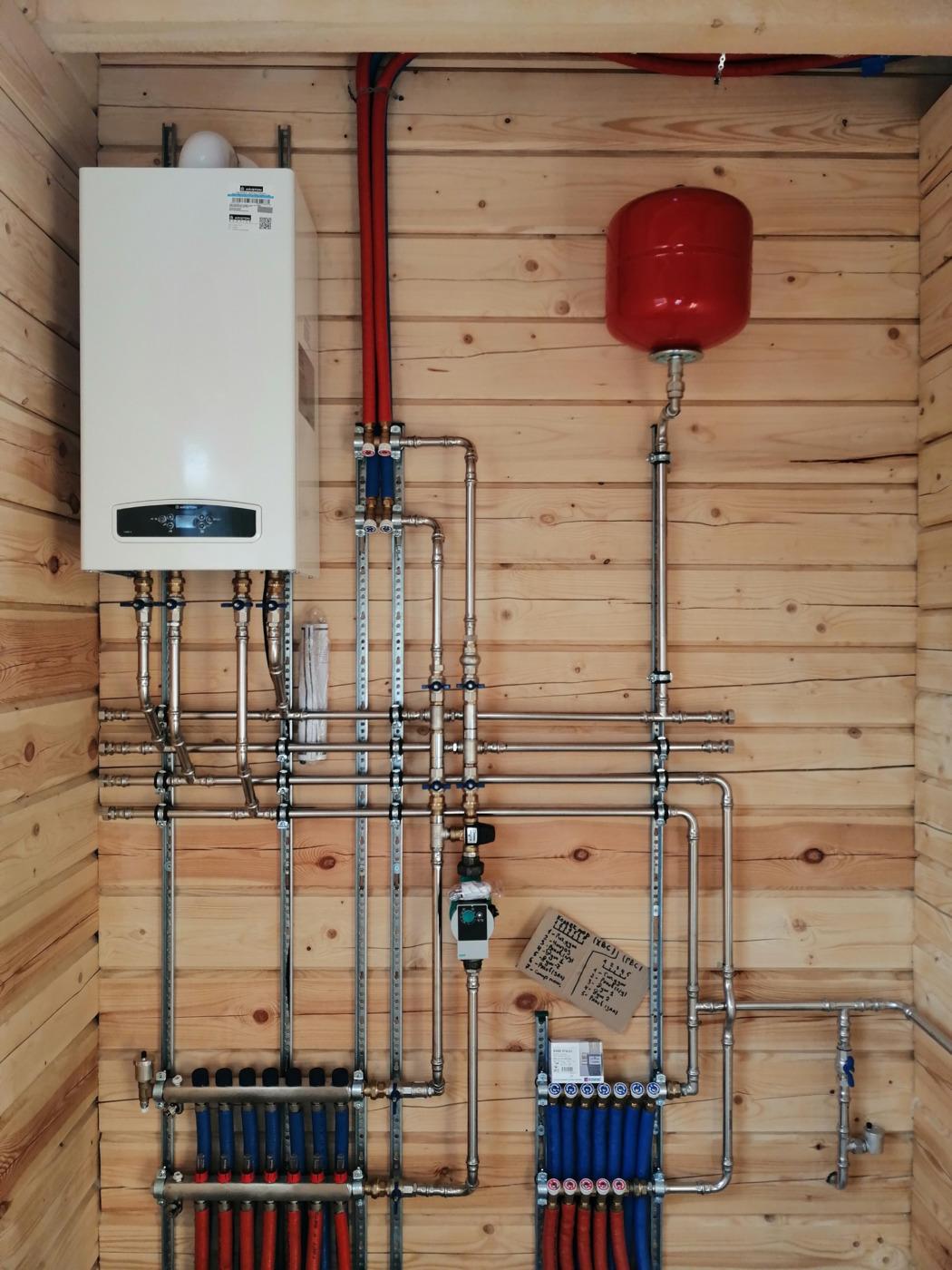 Отопление, водоснабжение и канализация. Основное