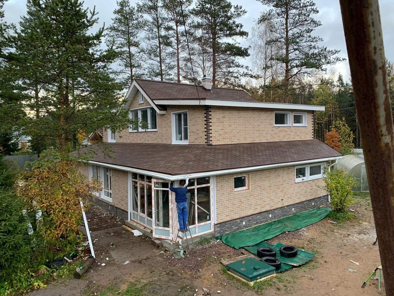 Строительство домов и коттеджей. Реконструкция крыши и фасада