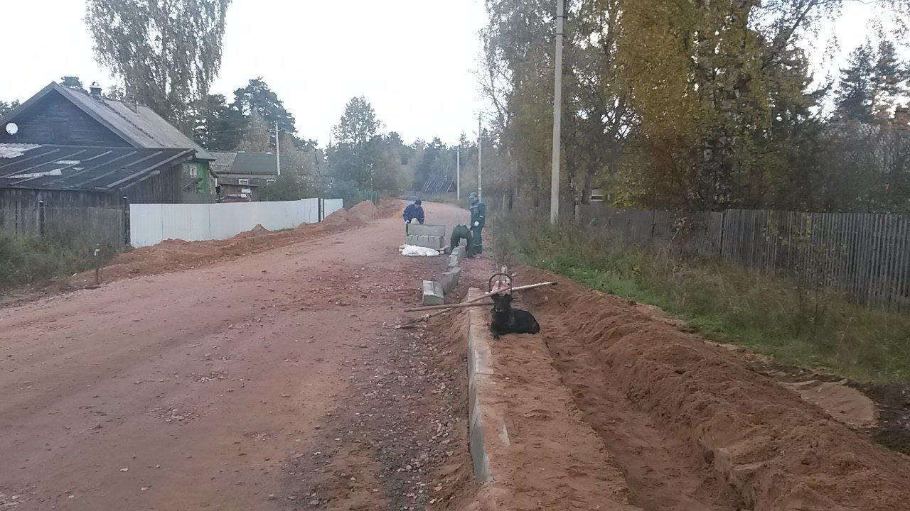 Строительство дорог и площадок. Благоустройство