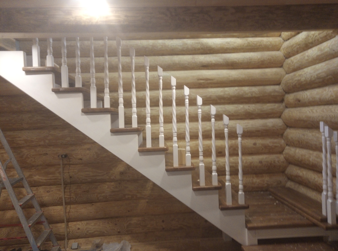 Изготовление лестниц. работа