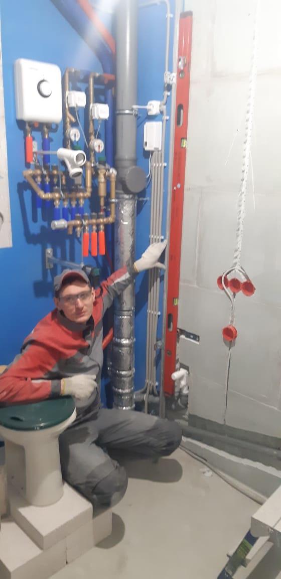 Отопление, водоснабжение и канализация. Инженерная сантехника