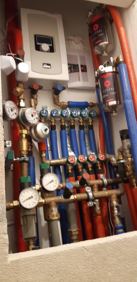 Отопление, водоснабжение и канализация. Современная сантехника