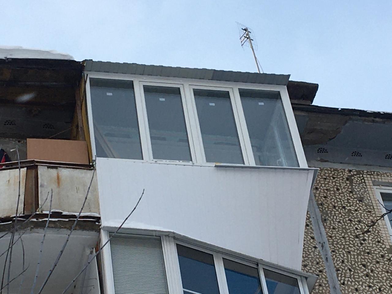 Балконы, лоджии, веранды. окошко