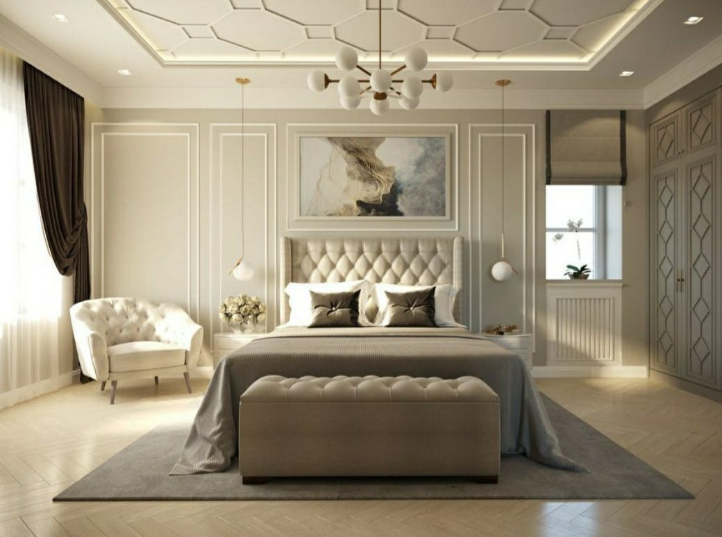 Дизайн интерьера. Комната в стиле Неоклассики