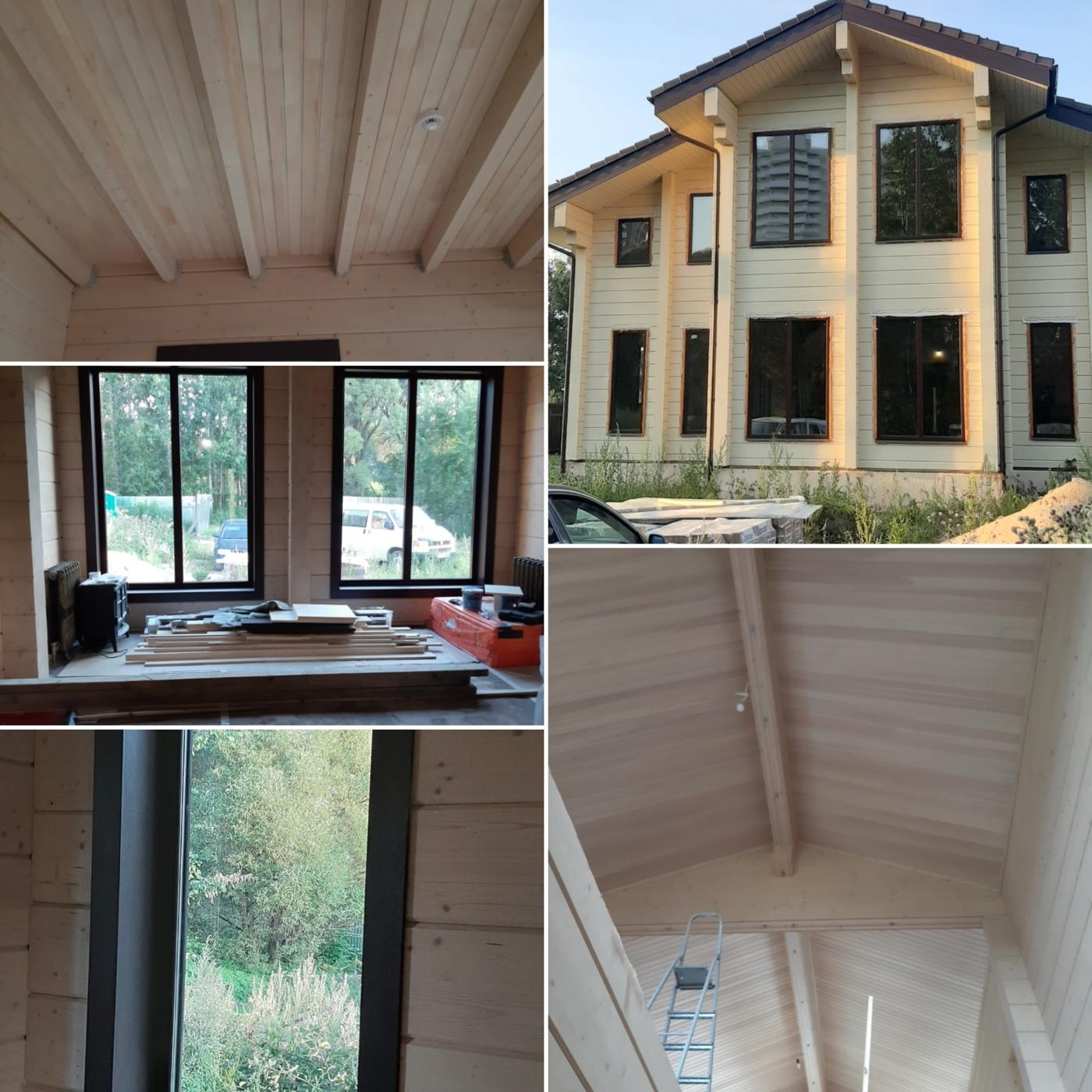 Отделка деревянных домов. отделка дома