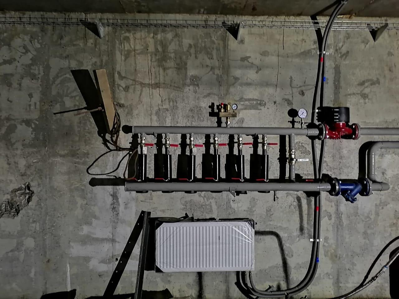 Отопление, водоснабжение и канализация. Портфолио