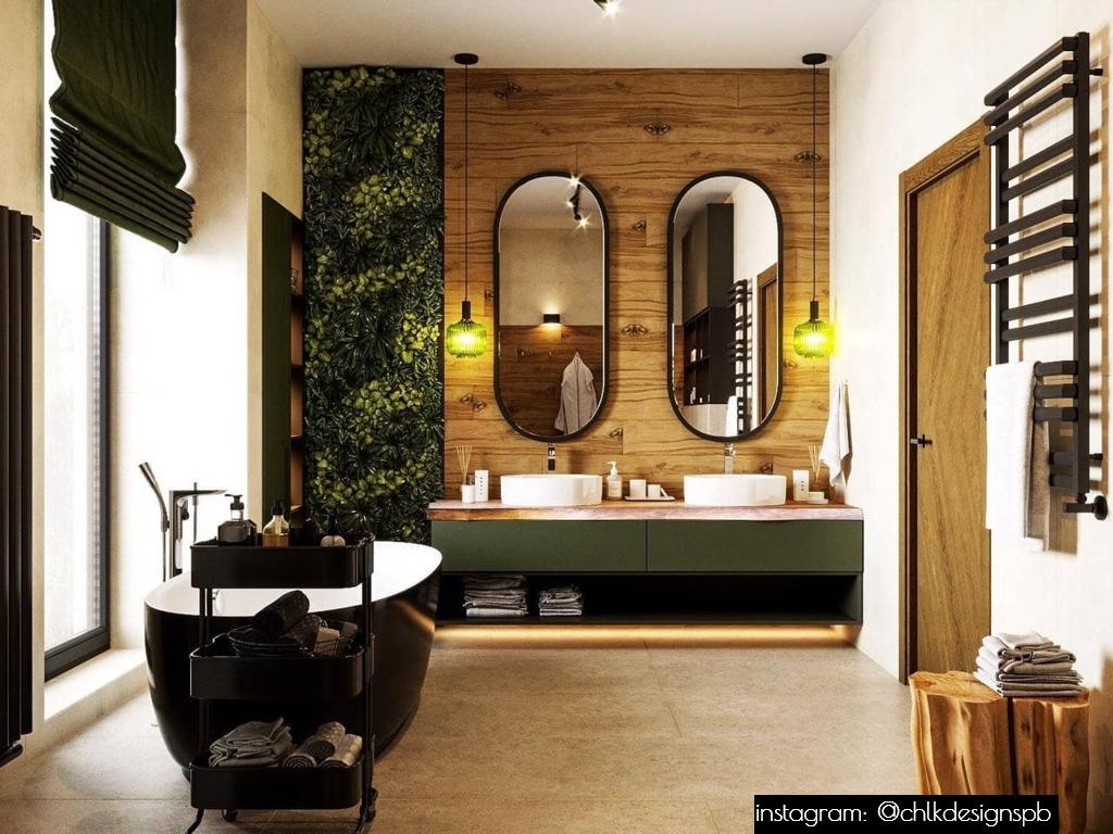 Дизайн‑проект. Проект спальни и ванной комнаты
