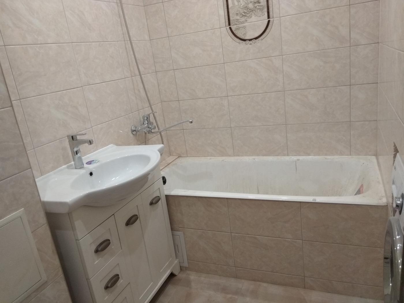 Ремонт ванной. Мои работы